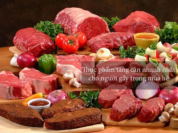 Thực phẩm tăng cân nhanh nhất cho người gầy trong mùa hè 1