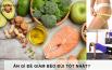 Ăn gì để giảm béo đùi tốt nhất?