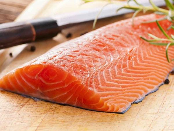Cá hồi nguồn thực phẩm giàu protein