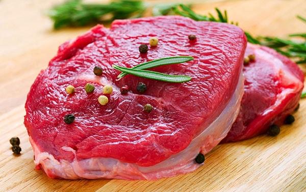 Thịt bò chứa lượng protein, kẽm, vitamin B12 giúp giảm cân hiệu quả