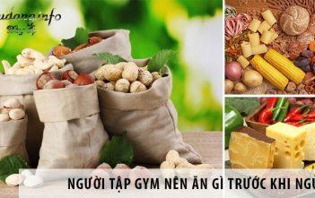 Người tập Gym nên ăn gì trước khi ngủ để phát triển cơ bắp