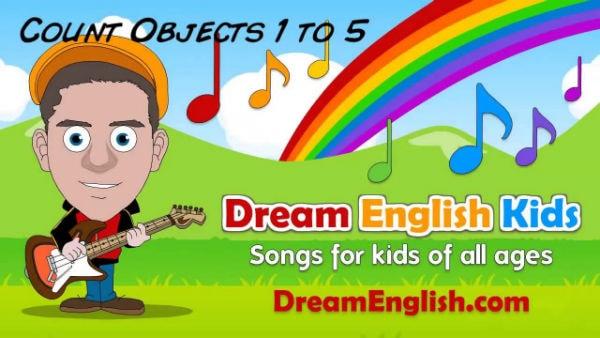 Dream English Kids kênh có nhiều bài hát vui vẻ được kết hợp với các câu chuyện hình học, màu sắc, động vật…