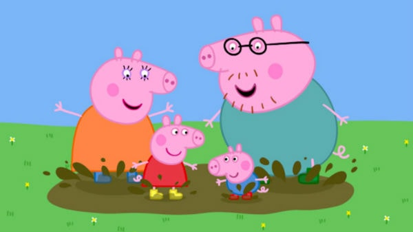 Peppa Pig là bộ phim hoạt hình có sự phối màu đạt tiêu chuẩn