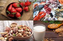 4 loại thực phẩm tốt cho sinh lý phụ nữ