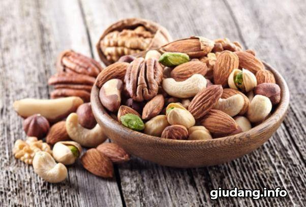 Các loại hạt tốt cho sức khỏe và sinh lý phái nữ