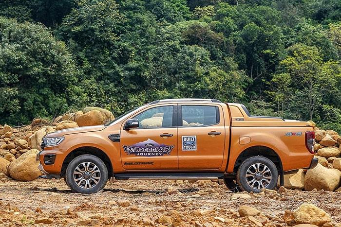 Hệ thống an toàn của xe Ford Ranger có bền không?
