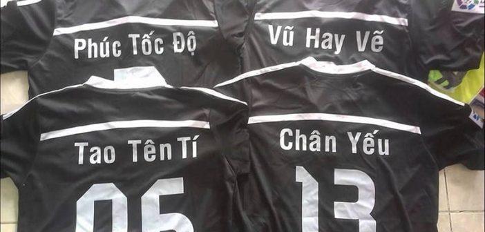 Hướng dẫn cách đặt áo bóng đá theo yêu cầu chất lượng nhất