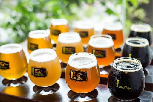 dòng bia Larger đang được xem là xu hướng hiện nay