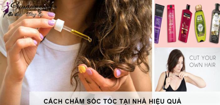 cách chăm sóc tóc tại nhà