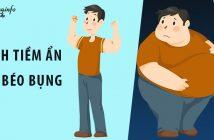 Cảnh báo 9 bệnh tiềm ẩn với đàn ông bị béo bụng