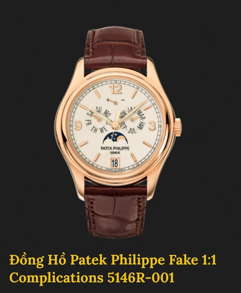 Patek Philippe Fake Complications