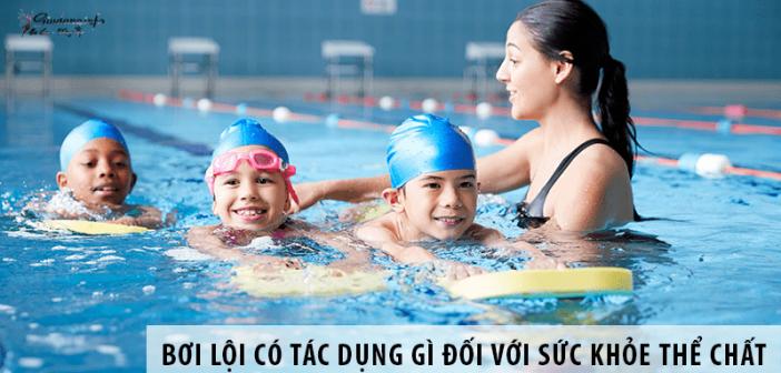 Bơi lội có tác dụng gì đối với sức khỏe thể chất