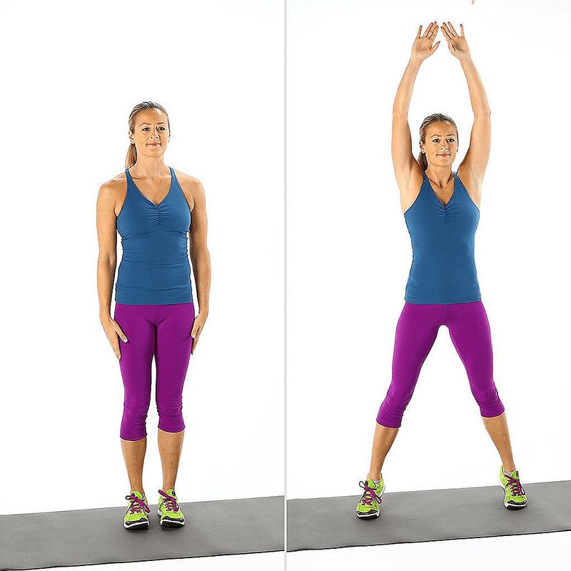 Bài tập giảm cardio Jumping jack giảm mỡ toàn thân
