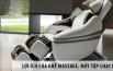 Ghế Massage Toàn Thân, Máy Tập Chạy Bộ Đa Năng Mang Lại Lợi Ích Gì?