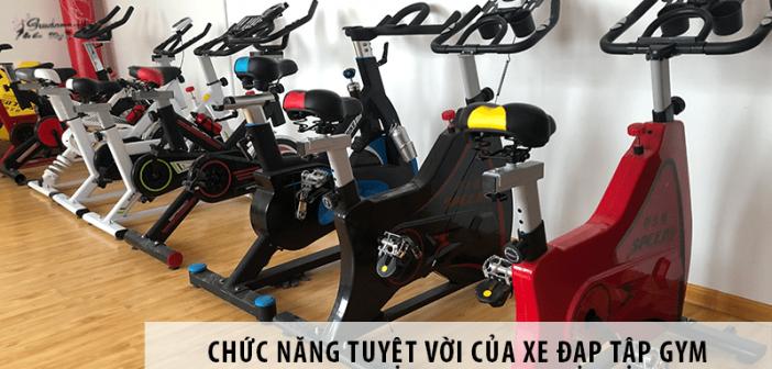 Chức năng tuyệt vời của xe đạp tập gym mà bạn chưa biết