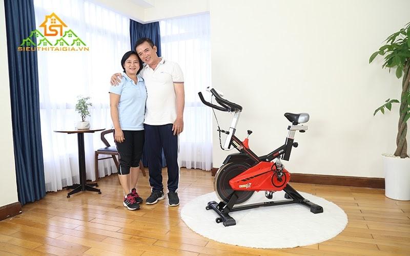Đạp xe giúp tăng cường chức năng tim mạch